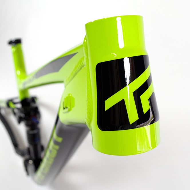 2017 Transition Smuggler Lime Green Gloss - Frame only