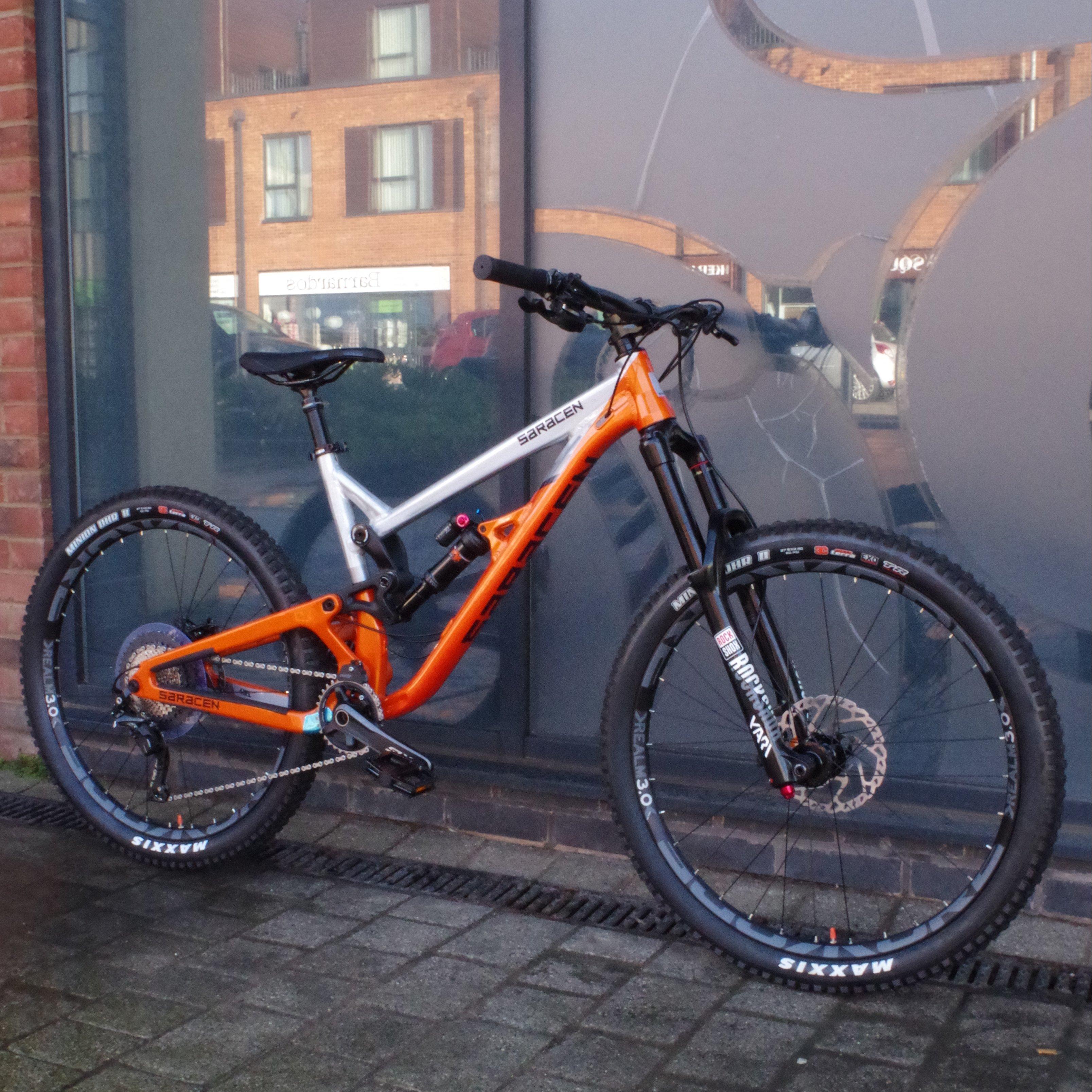 4dfec8a520e Full Suspension Mountain Bikes