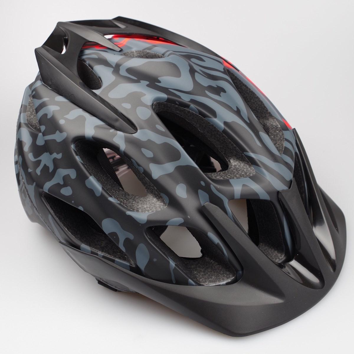 Fox Flux Helmet Grey Orange 163 70 00