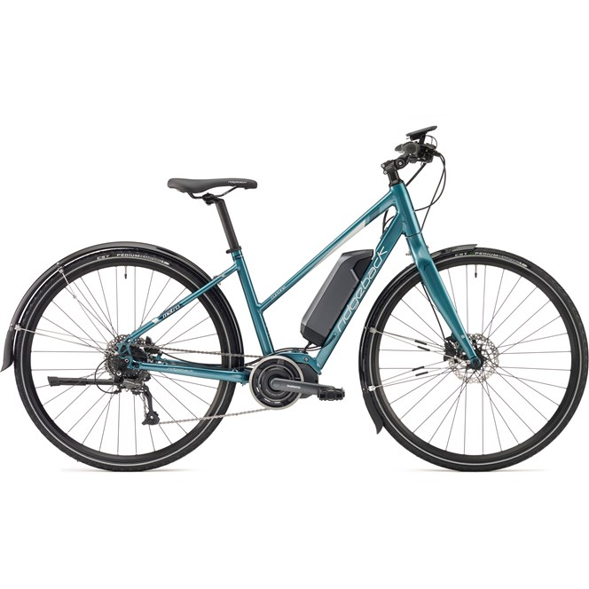 2018 Ridgeback Cyclone Open Frame Womens STEPS Electric Bike Teal