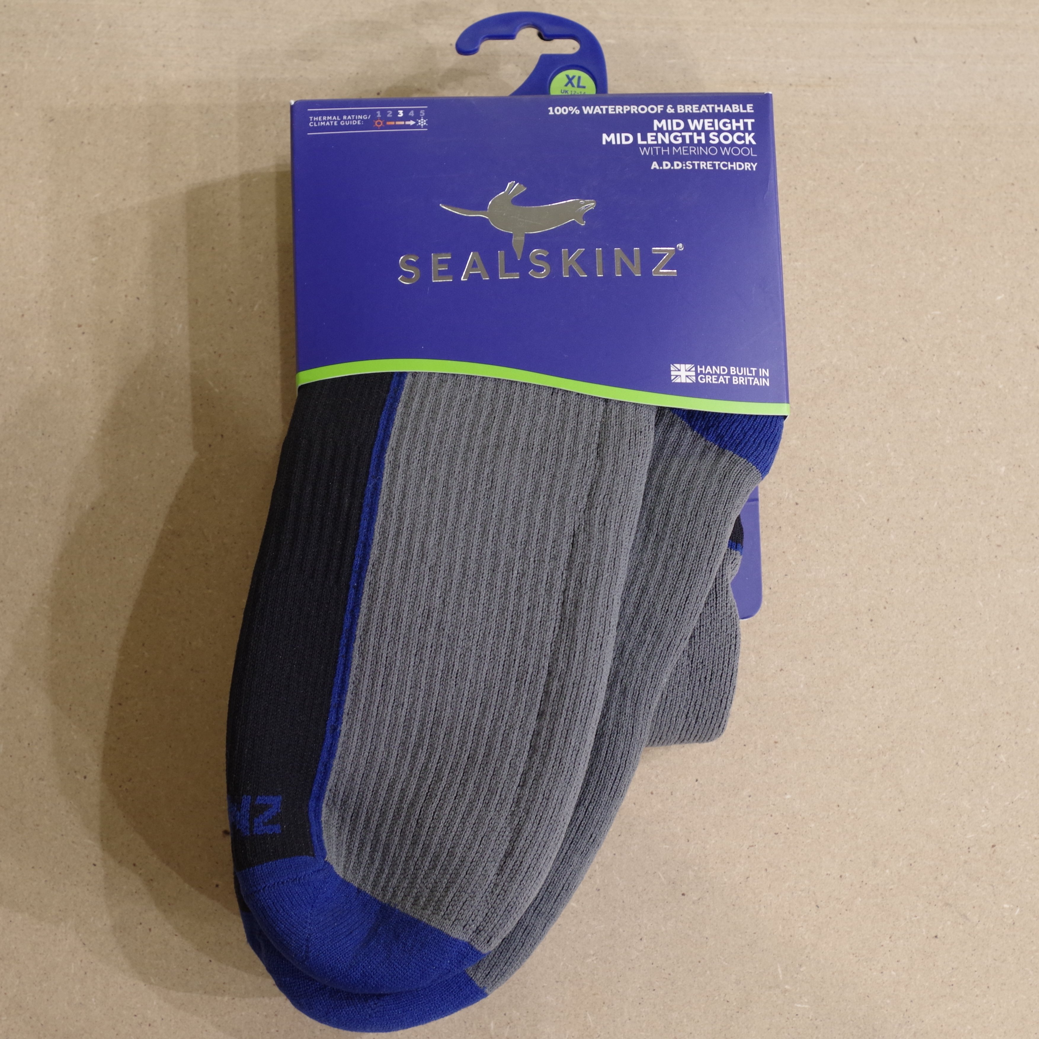 cheap sale to buy really comfortable Sealskinz Mid Weight Mid Length Extra Large Waterproof socks