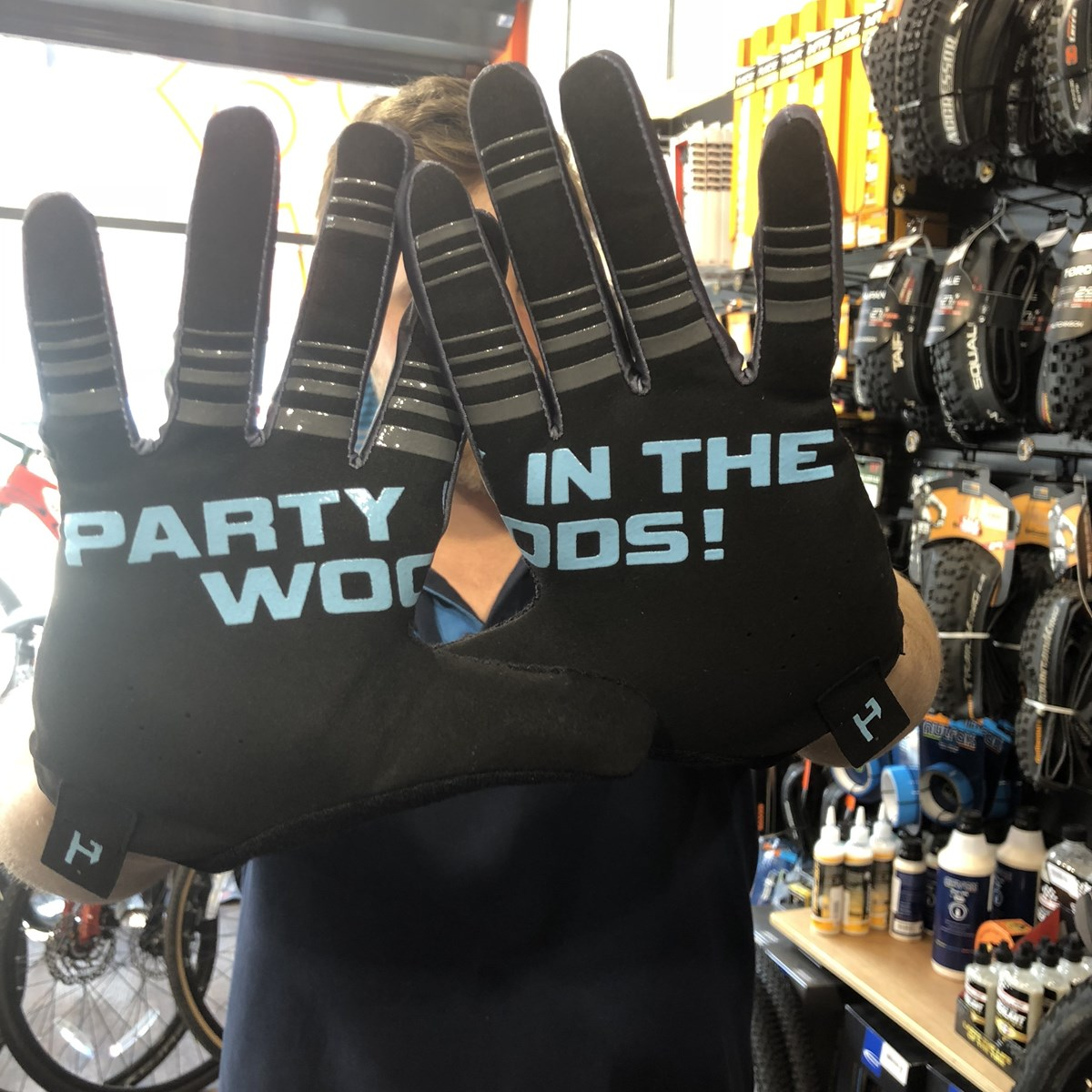 Transition Bike Company 2018 PNW Glove Large Black/Grey