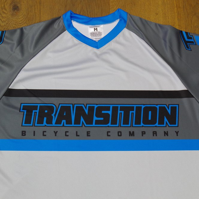 Transition Bikes Throwback Jersey 2016 Blue/Grey