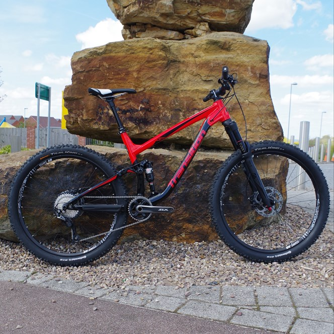 Transition Scout Alloy Bike Red Large 2017 SLX Yari Build