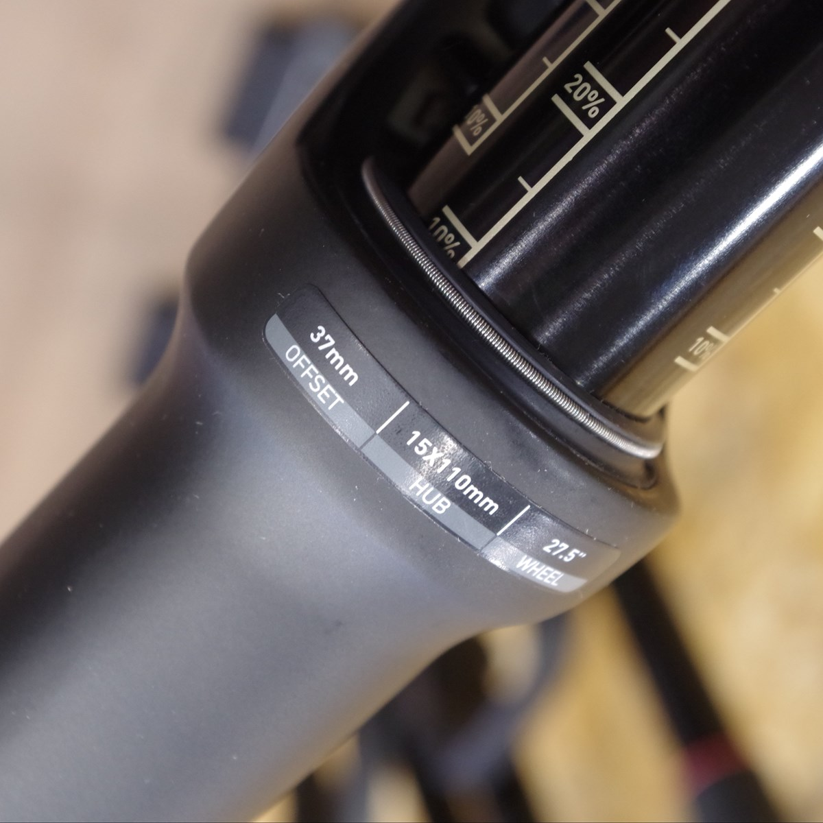 Rockshox Pike RCT3 27 150mm travel, 37mm Offset Transition Scout