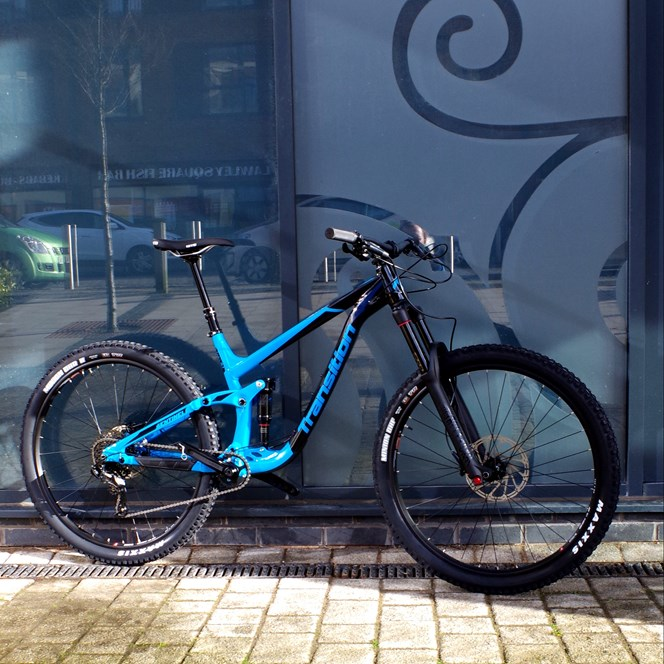 2018 Transition Sentinel Alloy NX - TR Blue