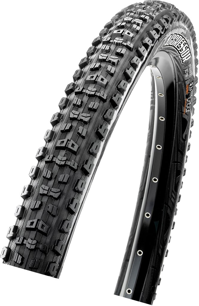 Maxxis Aggressor 27.5x2.30 60 TPI Folding Dual Compound EXO / TR tyre
